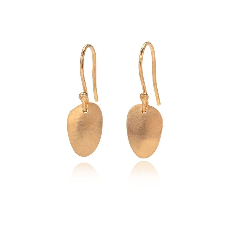 Eternity seed earrings gold by Juliet Strong - product images