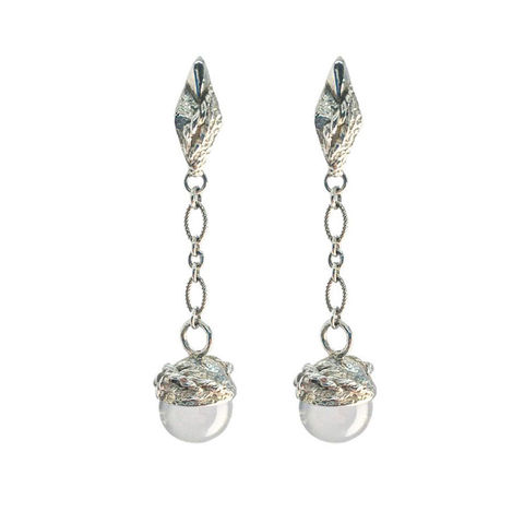 Globo,Quartz,earrings,by,Katherine,Brunacci,silver and quartz earrings