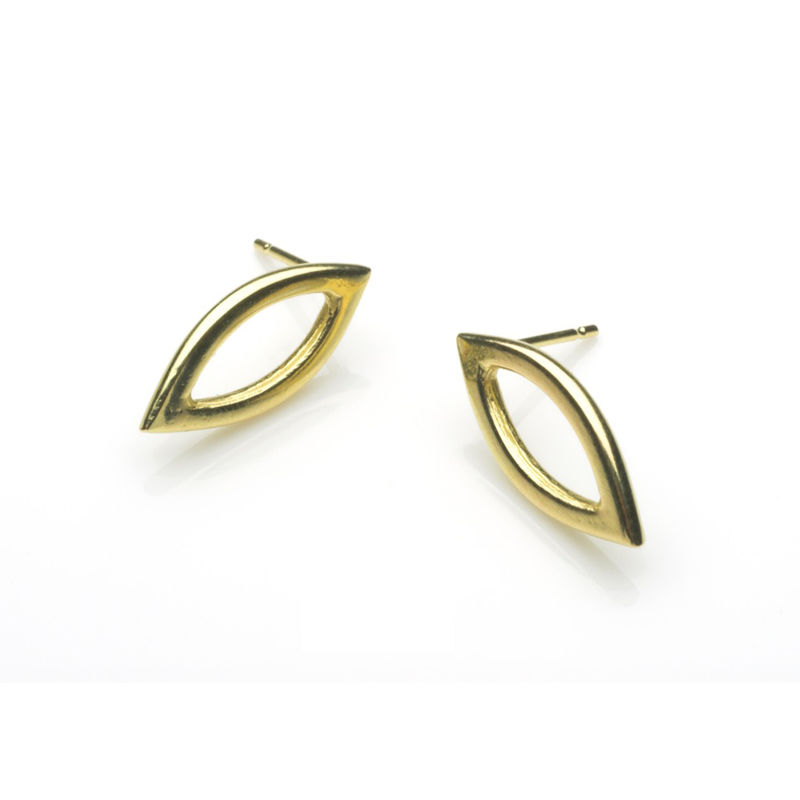 Small Dalia earrings in 18ct gold by Naomi Tracz - product images