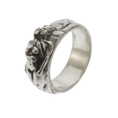 Passion,ring,by,Varr-Dan,silver passion pendant, Varr-Dan, jedeco, romantic silver ring