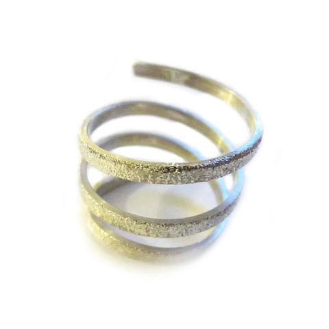 Sterling,Silver,Twist,Ring,by,Catherine,Marche,silver coil ring, twisted silver ring , sterling silver fashion statement jewellery, handmade jewellery by Catherine Marche, french elegance, everyday ring , london jeweller, ethical jewellery