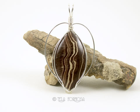 Betty,Crocker,Jasper,Pendant,Chocolate,and,Vanilla,Sterling,Silver,Wire,Wrapped,Jewelry,Wire_Wrapped_Pendant,Betty_Crocker,Jasper_Pendant,Chocolate and Vanilla,Natural_Stone,stone_Pendant,Handmade,Sterling_Silver,jasper,wire_wrapped,brown_stone_pendant
