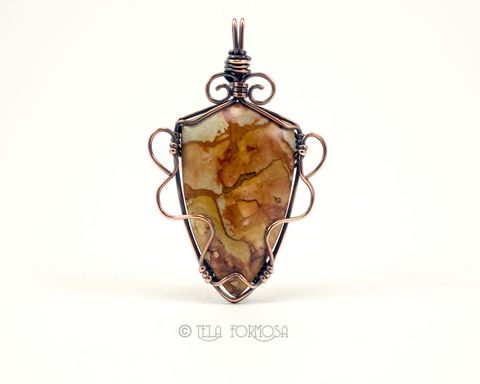 Rocky,Butte,Picture,Jasper,Pendant,Scenic,Natural,Stone,Cabochon,Copper,Wire,Wrapped,Jewelry,Wire_Wrapped_Jewelry,Rocky_Butte,Picture_Jasper,scenic,scenic jasper,jasper_pendant,Natural_Stone,stone_Pendant,Copper_Pendant,Cabochon_Pendant,Wire_Wrapped_Pendant,Wire_Wrap,wire_wrapped