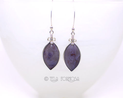 Dangly,Rare,Turkish,Purple,Jade,Earrings,Natural,Stone,Cabochon,Sterling,Silver,Wire,Wrapped,Jewelry,Purple_Jade,purple_jade_Earrings,jade_earrings,Natural_Purple_Stone,purple_Earrings,Cabochon_Earrings,Handmade,Wire_Wrapped_Jewelry,Wire_Wrap_Earrings,dangly,earrings,turkish_purple_jade,solid sterling silver,Turkish Purple Jade