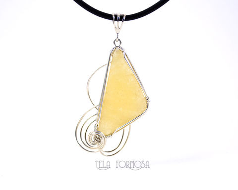 Cheery,Yellow,Calcite,Pendant,Sterling,Silver,Wire,Wrapped,Natural,Cabochon,Handmade,Wrap,cheery, natural cabochon,Yellow Calcite Pendant, yellow calcite, calcite,  Sterling Silver, Wire Wrapped, Handmade, Wire Wrap, cabochon pendant, cabochon jewelry, yellow jewelry