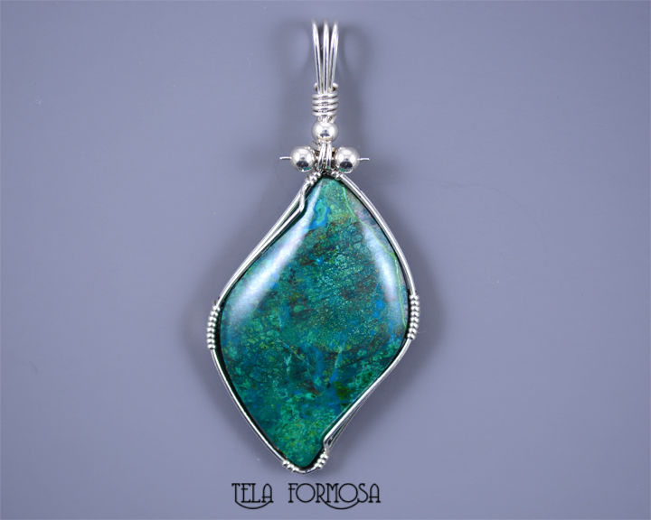 parrot wing chrysocolla