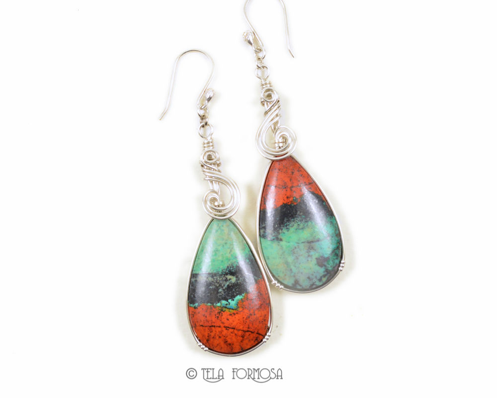 Sonora Sunrise Earrings Sterling Silver  - product images  of