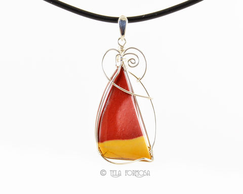 Mookaite,Wire,Wrapped,Cabochon,Pendant,Red,and,Yellow,Sail,Sterling,Silver,Nautical,Jewelry,Wire_Wrapped_Pendant,wire_wrapped,Mookaite_Pendant,mookaite,Mookite_Pendant,mookite,Red_Natural_Stone,natural_stone,stone_pendant,Sterling_Silver