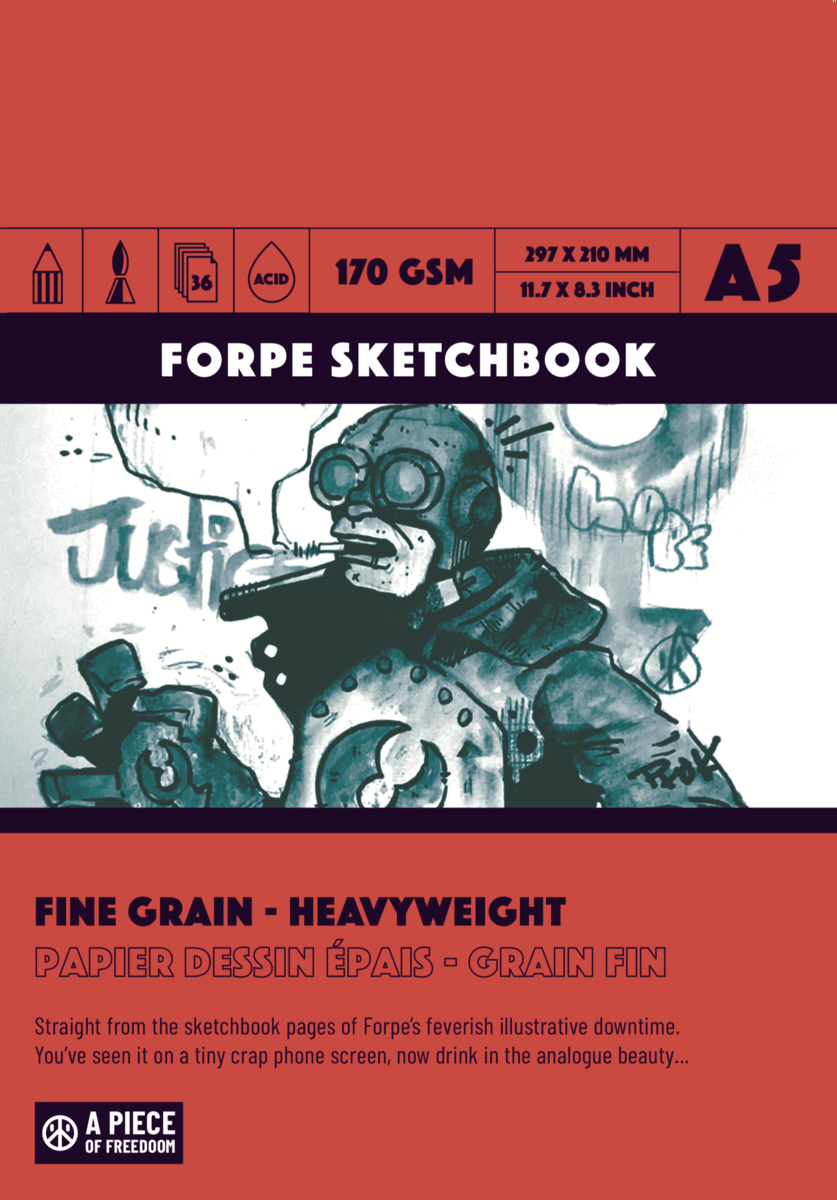 Forpe Sketchbook 2019 - product images  of