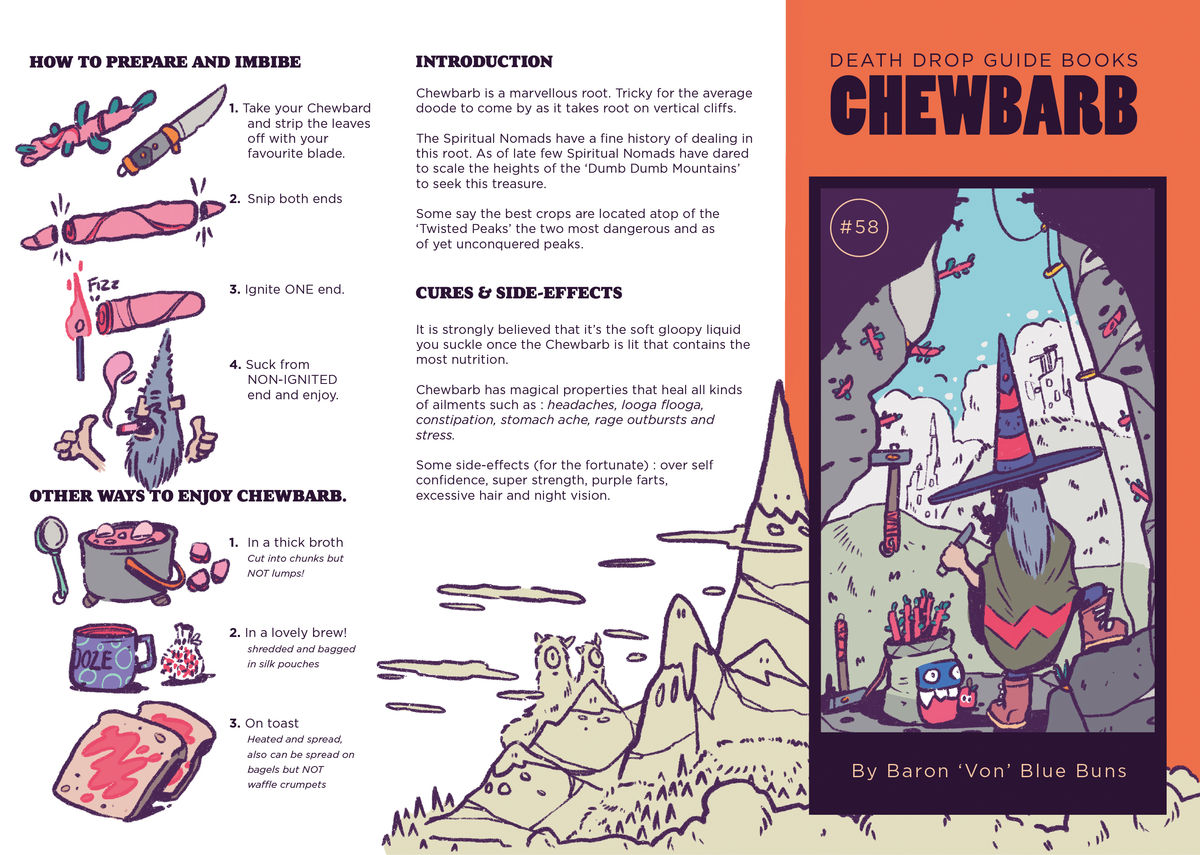 Chewbarb Pamphlet - product images  of