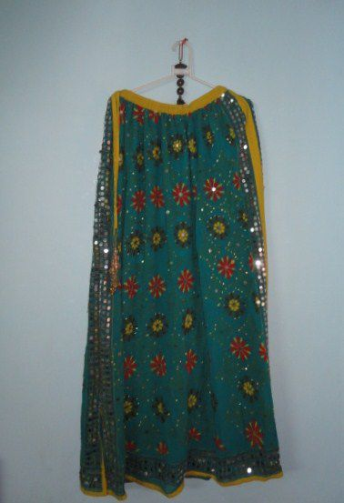 Bohemian Indian Gypsy Skirt for Girls in Georgette - product image