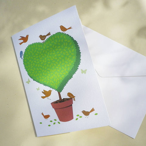 Topiary,Heart,Gift,Card,Paper_Goods,Cards,I_Love_You,Love_Card,Birthday_Card,Gardener,Cottage_Garden,Valentine's_Card,Retirement,With_Love,Heart_Card,Country_Folk,Birds,Butterflies
