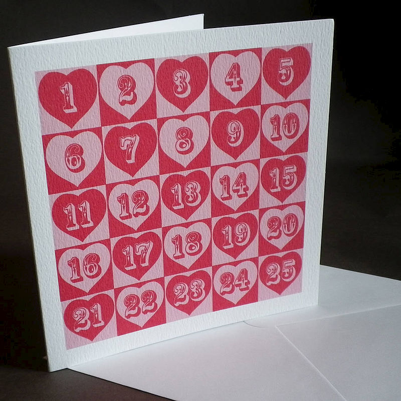 Pop art card for anniversary or birthday - product images  of