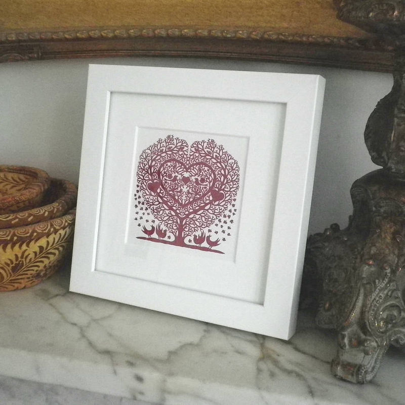 Miniature Folk Art Prints (Square) - product images  of
