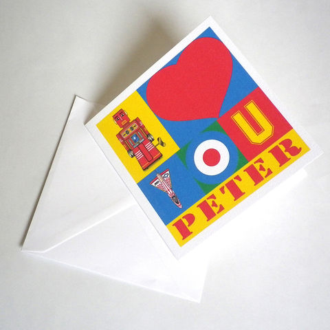 Personalised,Pop,Art,I,Love,You,Card,Paper_Goods,Cards,Birthday,pop_art,customized,name_card,love,i_love_you,valentine,anniversary,peter_blake,personalised,retro,valentine_card,valentine_for_him,valentine_gift