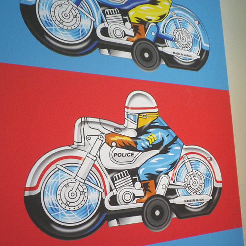 Japanese Motorbikes Canvas Print - product images  of