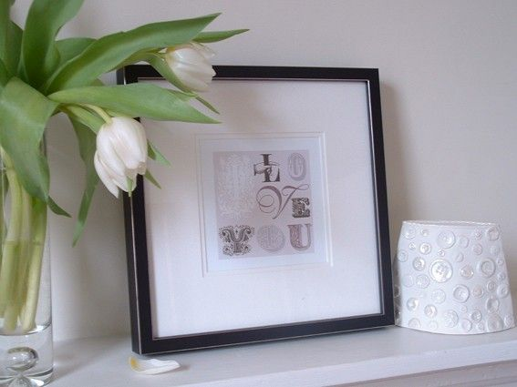 Vintage Style I Love You Card - product images  of