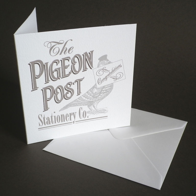 The Pigeon Post Stationery Co. Assorted pack of Six Cards - product images  of