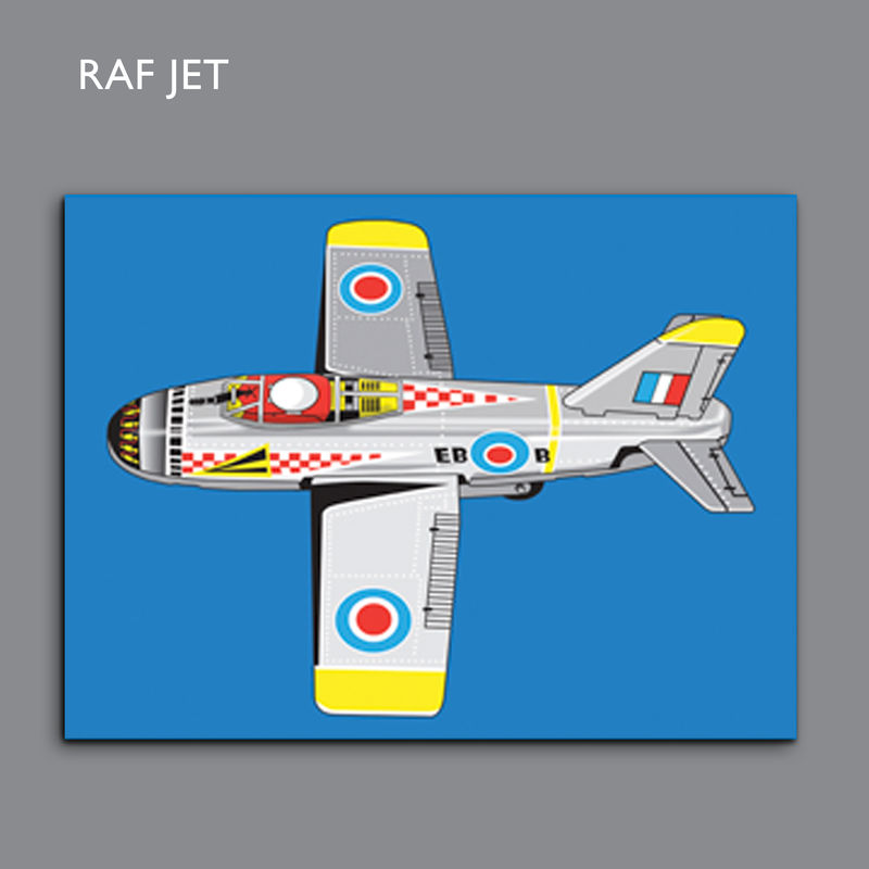 RAF Jet Canvas Print - product images  of
