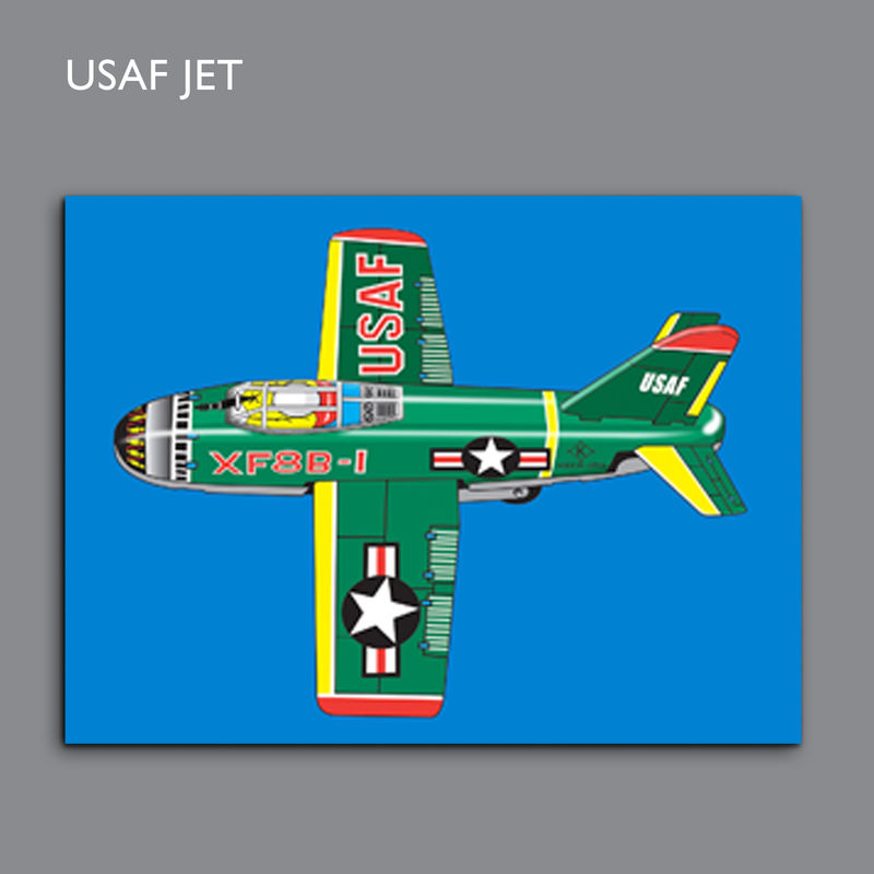 USAF Jet Canvas Print - product images  of
