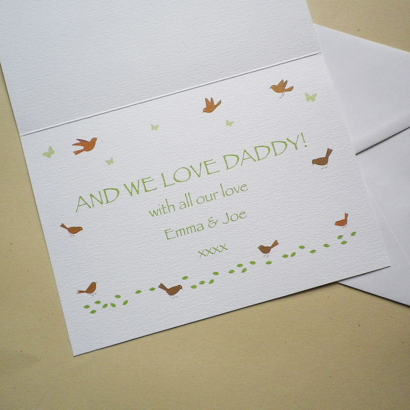 Daddy Loves His Garden Card - product images  of