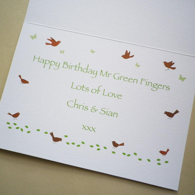 Happy Birthday Topiary Card - product images  of