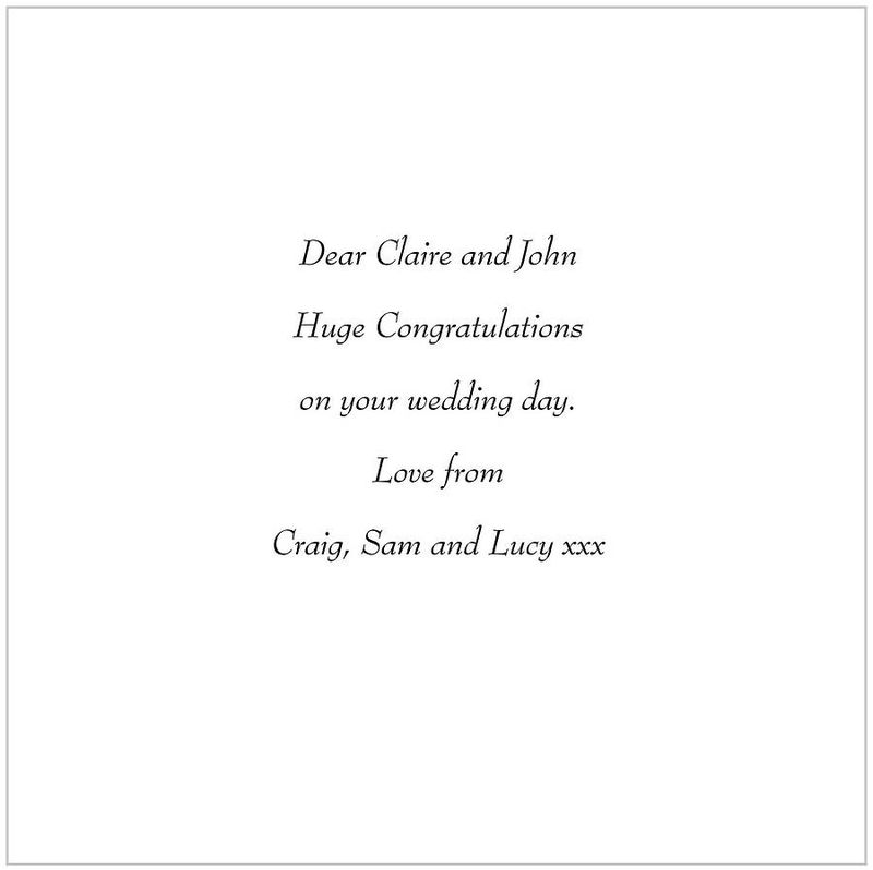 March Hares Heart Card for anniversaries, weddings, engagements or valentine. - product images  of