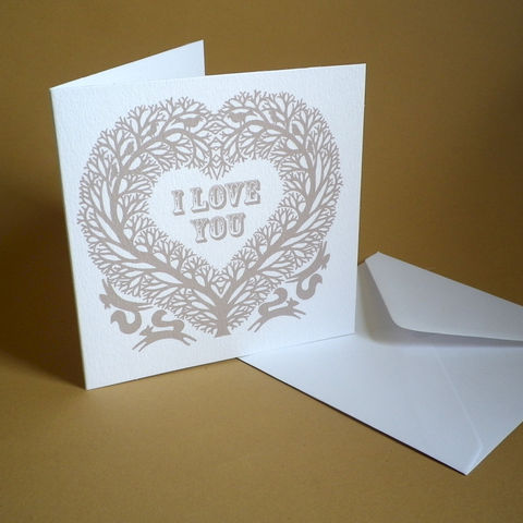 I,Love,You,Heart,Card,for,anniversaries,,weddings,,engagements,or,valentine.,Paper_Goods,Cards,Blank,I Love You,Wedding, Anniversary, Engagement, Notelets,Folk_Art,Papercuts,Silhouettes,Hearts,Gift_for_her,Cards_Love_Hearts,Romantic,Gift_for_friend