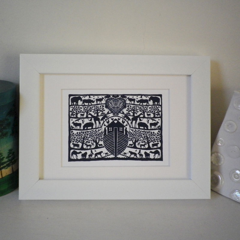 Miniature Folk Art Prints (Landscape) - product images  of