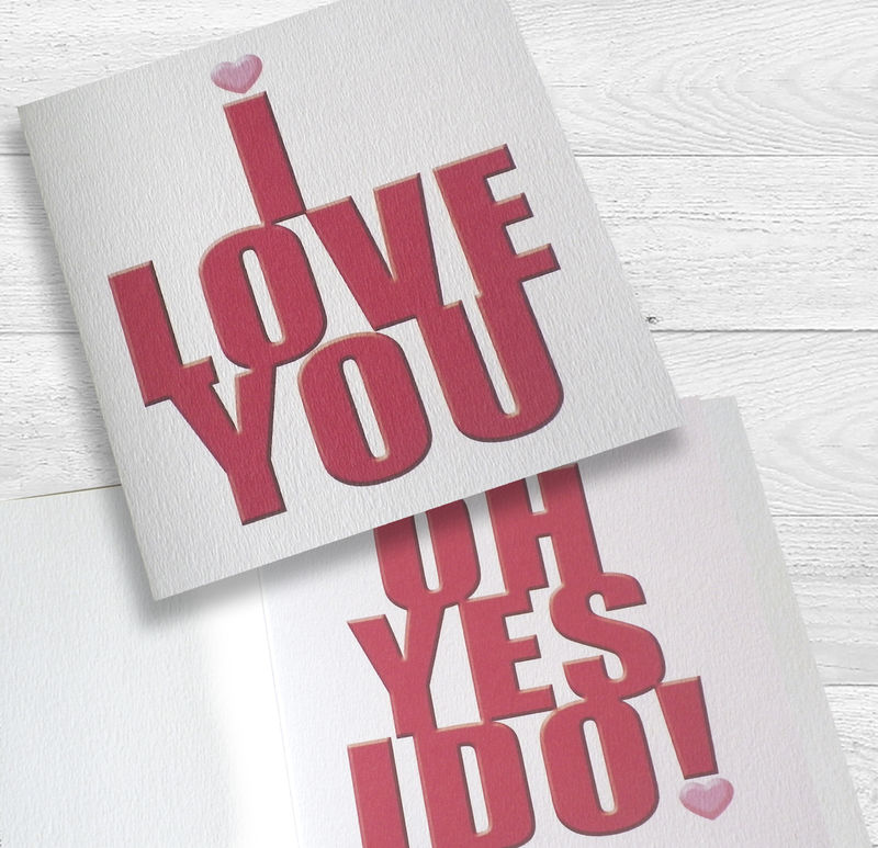 I Love You...Oh Yes I Do Card - product images  of