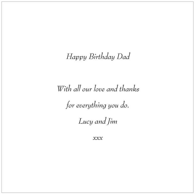 Dad Tree Heart Father's Day or Birthday Card - product images  of