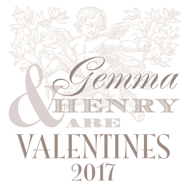 Personalised Valentine Names Print - product images  of