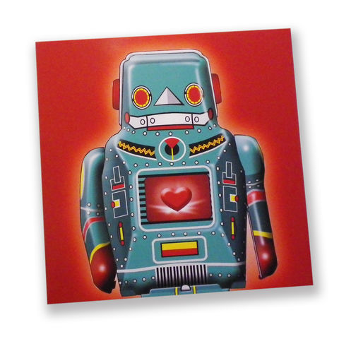Robot,Heart,Birthday,Or,Anniversary,Card,Paper_Goods,Cards,pop_art,customized,name_card,love,i_love_you,valentine,anniversary,peter_blake,personalised,retro,valentine_card,valentine_for_him,robot