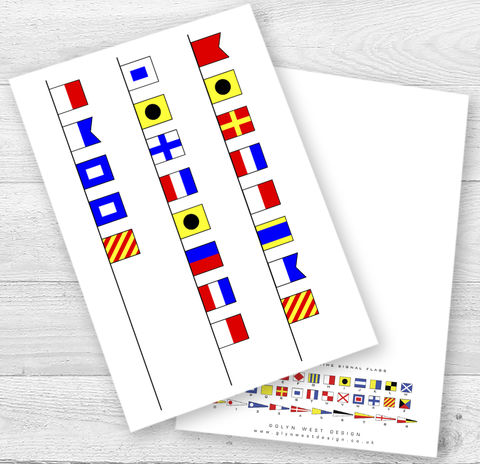Personalised,Signal,Flags,Age,Birthday,Card,Paper_Goods,Cards,Nautical,Birthday_Age_Card,Personalised_Card,Sailor,Navy,Signal Flags,Yacht,Card_sent_direct,Card_for_sailor,Sailing,Beach_Hut,Seaside