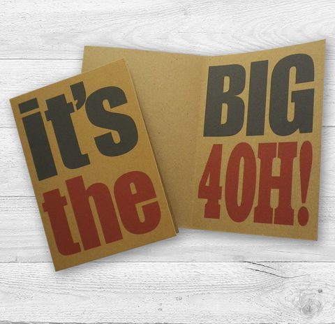 It's,The,Big,4Oh!,5Oh!,Or,6Oh!,Recycled,Birthday,Card,Paper_Goods,Cards,64 Birthday_Card, Recycled,Kraft_Card,Eco_Card,Rococo_Type,Typographic_Card,Sent_Direct_Card,Add_message