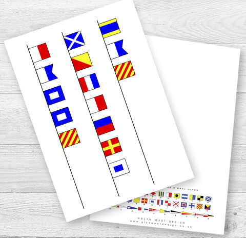 Mother's,Day,Signal,Flags,Card,Paper_Goods,Cards,Mother's Day,Nautical,Sailor,Navy,Signal Flags,Yacht,Card_sent_direct,Card_for_sailor,Sailing,Beach_Hut,Seaside