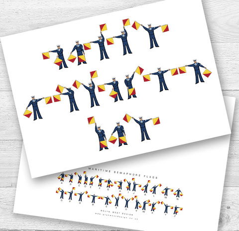 Mothers,Day,Semaphore,Flags,Card,Paper_Goods,Cards,Fathers Day,Nautical,Mothers DayCard,Sailor,Navy,Semaphore_Flags,Yacht,Card_sent_direct,Card_for_sailor,Sailing,Beach_Hut,Seaside