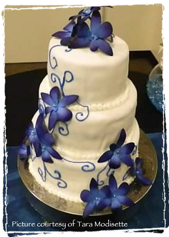 blue orchid wedding cake topper dendrobium orchid cake flowers topper from trees to these 11998