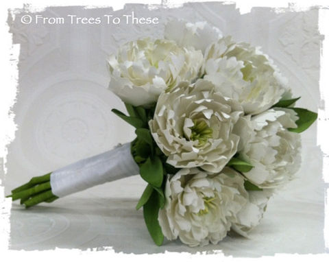 Traditional,Peony,Bouquet,Set,Weddings,white_peony_bouquet,white_paper_bouquet,white_bouquet,paper_peony,paper_peonies,paper_flower,paper_flowers,wedding_bouquet,bridal_bouquet,classic_bouquet,ivory_bouquet,ivory_paper_bouquet,ivory_peony_bouquet,floral tape,paper,wire,satin r