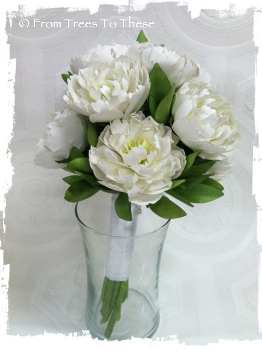 Traditional Peony Bouquet Set - product images  of