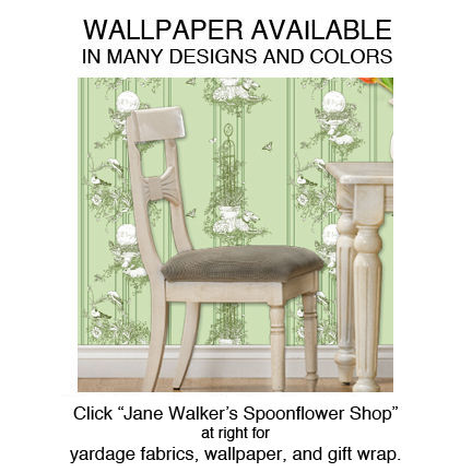 WALLPAPER,greyhound wallpaper, dog toile, toile wallpaper, dog wallpaper, garden wallpaper