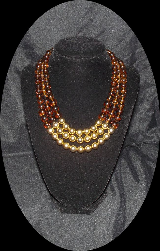 in multilayer rj r bead necklace j product coin shaky lyst jewelry orange normal graziano