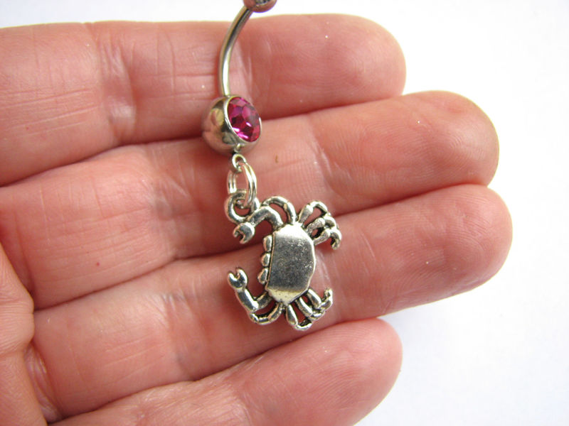 Let's Get Crabby Belly Button Rings - product images  of