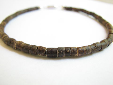 Original,Tropical,Coconut,Anklet,coconut ankle bracelet, minimalist anklet, tropical anklet, basic summer jewelry, coconut foot jewelry,  casual ankle jewelry, beach anklet, hawaiian anklet, eco friendly, renewable resourses. hand made, crafted, dark brown, brown, natural, earthy