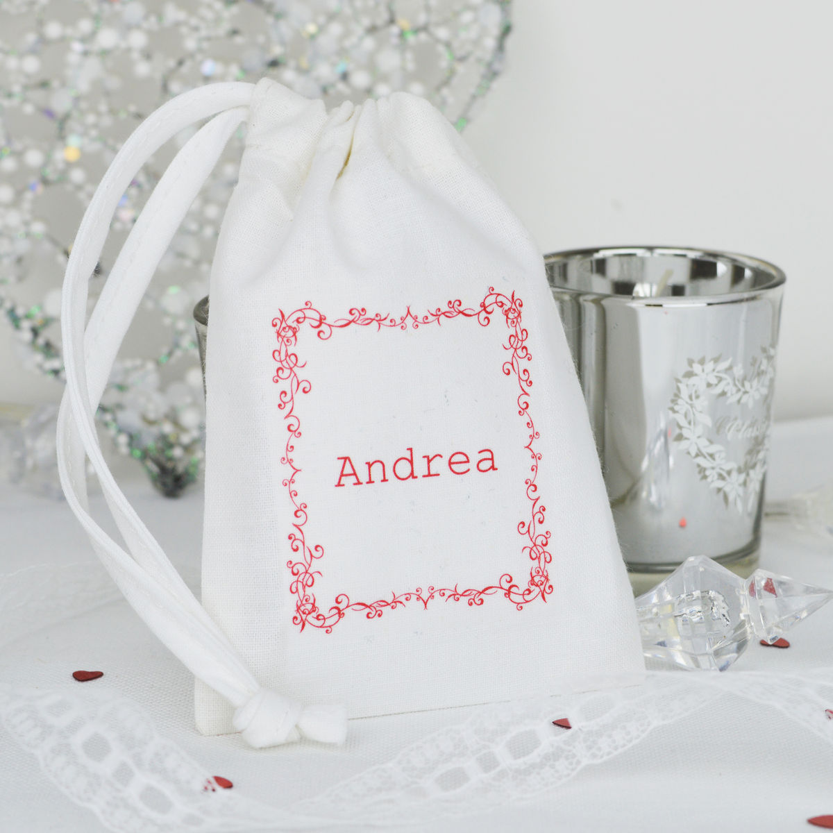 Personalised Table Gift Bag - product image
