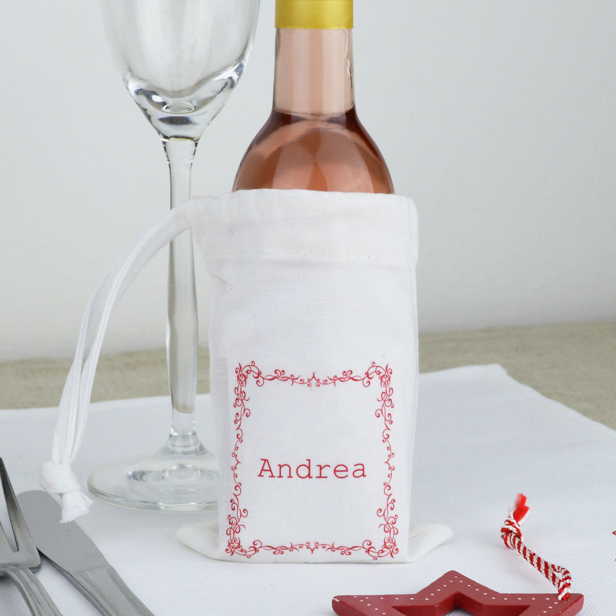 Personalised Table Gift Bag - product images  of