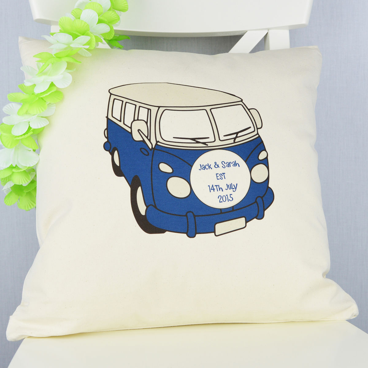Personalised Camper Van Cushion - product image