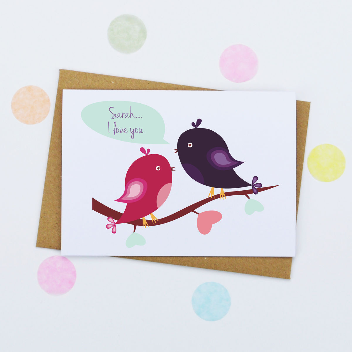 Personalised Valentine's Day Card - product image
