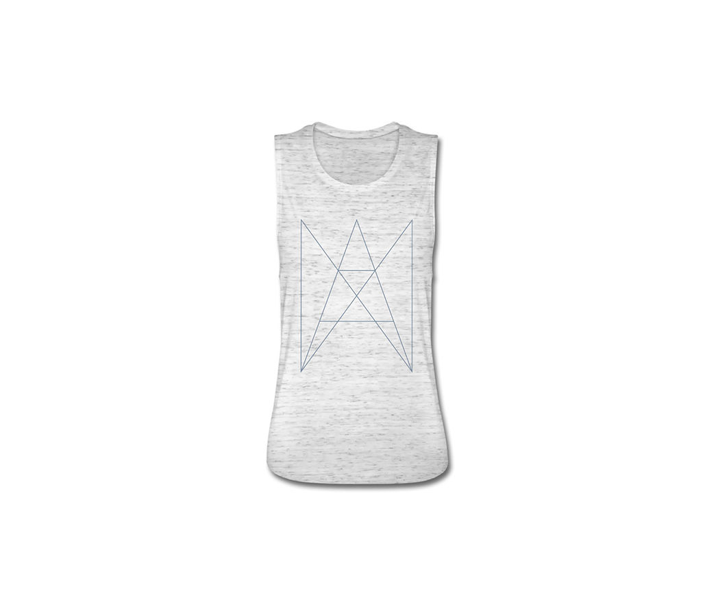 ANA ANA - LOGO TANK TOP WOMEN SILVER - product image
