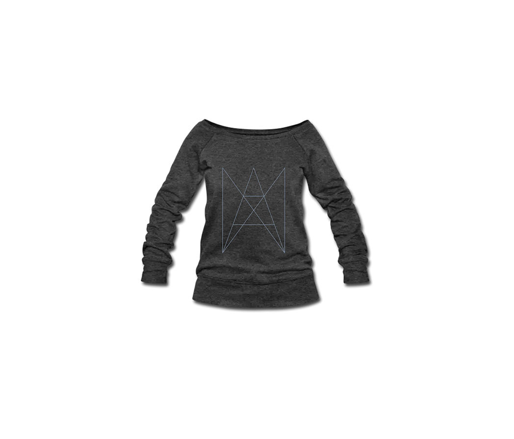 ANA ANA - LOGO PULLOVER WOMEN SILVER - product image